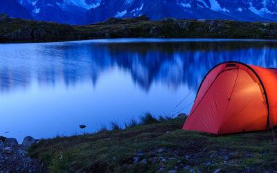Zelt für Solo-Abenteuer